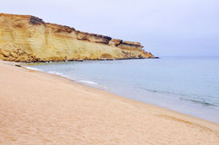 Piękna linia brzegowa Angola Zdjęcie Royalty Free