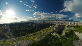 Piękna linia horyzontu Grecja zbiory wideo