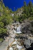Piękna merced rzeka w Yosemite parku narodowym Obraz Royalty Free