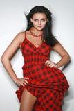 piękna modna seksowna kobieta Obraz Stock