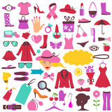 piękna mody ikony Obraz Royalty Free