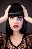 piękna mody makeup kobieta Zdjęcie Stock