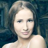 piękna mody portreta kobieta Zdjęcia Royalty Free