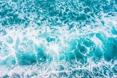 Piękna morza i oceanu wodnej fala powierzchnia Zdjęcia Royalty Free