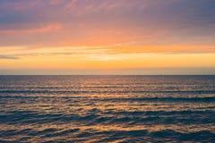 pi?kna nad s?o?ca nad morzem Anapa, Krasnodar region, Rosja zdjęcie royalty free