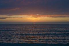 pi?kna nad s?o?ca nad morzem Anapa, Krasnodar region, Rosja zdjęcia royalty free