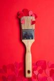 Piękna naprawa na valentin dniu Obraz Stock