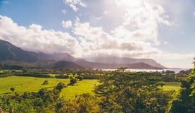 Piękna natura na Kauai wyspie, Hawaje, usa zdjęcia royalty free