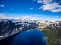 Piękna natura Norwegia Obraz Stock