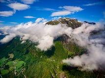 Piękna natura Norwegia Fotografia Royalty Free