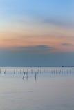 Piękna naturalna seacoast linia horyzontu Obrazy Stock