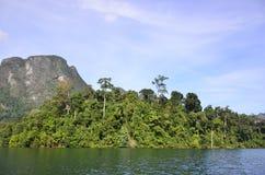 Piękna natury wyspy tama Zdjęcie Royalty Free