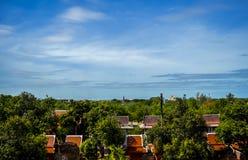 Piękna niebo sceneria fotografia stock
