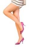 piękna noga zdjęcie stock