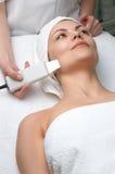 piękna oczyszczania skóry usg serii zwolnienia Obrazy Royalty Free