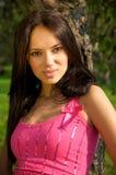 piękna ogrodowa kobieta Obrazy Stock