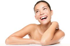 piękna opieki skóry kobieta Obraz Royalty Free