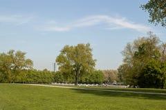 Piękna parkowa scena Obrazy Royalty Free