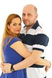 piękna pary przytulenie Obrazy Stock