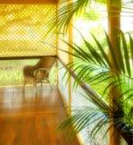 piękna portch tropical Zdjęcie Royalty Free