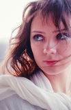 piękna portret kobieta Obrazy Royalty Free