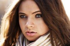 piękna portret kobieta zdjęcie royalty free