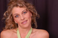 piękna portret kobiety Zdjęcia Stock