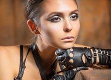 piękna portret kobiety Zdjęcie Royalty Free
