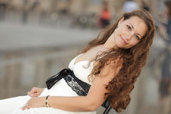 piękna portreta kobieta Zdjęcie Royalty Free