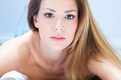 piękna portreta kobieta Obrazy Royalty Free