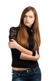 piękna portreta kobieta Obrazy Stock