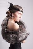 piękna portreta kobieta Zdjęcia Royalty Free