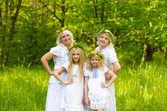 piękna rodzina Zdjęcie Royalty Free