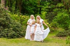 piękna rodzina Obrazy Stock