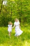 piękna rodzina Zdjęcia Royalty Free