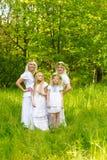 piękna rodzina Fotografia Royalty Free
