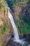 Piękna Sala woda spada blisko Labe w Fouta Djalon regionie gwinea, afryka zachodnia Obraz Stock