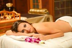 piękna salonu zdroju kobieta Obrazy Royalty Free