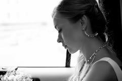 piękna samochodowa dziewczyna Fotografia Stock