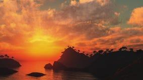 piękna sceneria Obraz Royalty Free