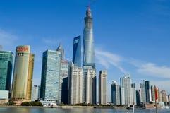 Piękna Shanghai miasta lokacja Obraz Royalty Free