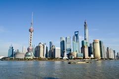 Piękna Shanghai miasta lokacja Obrazy Royalty Free