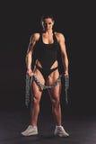 Piękna silna kobieta Obraz Royalty Free