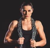 Piękna silna kobieta Obraz Stock