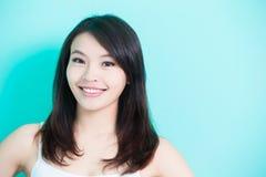 Piękna skincare kobieta Zdjęcia Stock