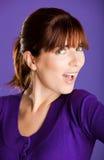 piękna smilling kobieta Fotografia Stock