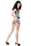 piękna smokingowa krótka kobieta Yong zdjęcie stock