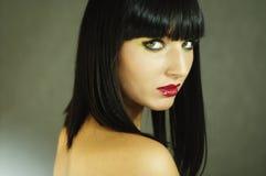 piękna splendoru portreta kobieta Obraz Stock