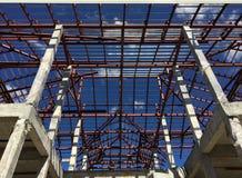 Piękna struktura nowego domu budynek Zdjęcia Stock