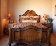 piękna sypialnia Fotografia Stock